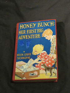 vintage 1933 HONEY BUNCH: HER FIRST BIG ADVENTURE