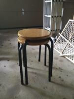 2 stacking stools $3 for pair