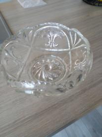 Vintage style Glass Dish
