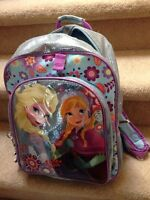 Disney Store Frozen Backpack 2014 - EUC