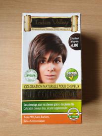 2 pack. Organically natural hair colour/ Medium Brown