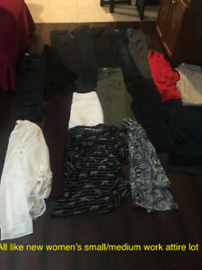 Women's like new clothing lot