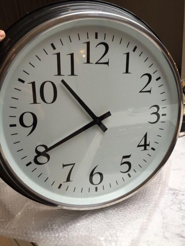 Large Ikea Bravur Clock In Earls Court London Gumtree