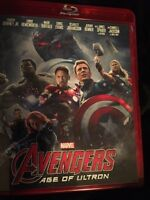 Avengers. Age of ultron. Blue ray 15.00