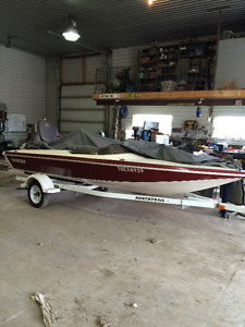 16' charger w/ 115 yamaha outboard