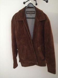 Men's Suede Winter Coat