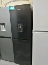Hisense fridge freezer with water dispenser at Recyk Appliances