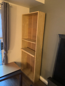 IKEA Book shelf & coffee table