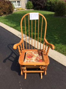 Rocker chair for sale