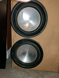 "Eclipse 10"" Subwoofers"