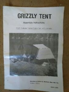 Solid 12 x 9 tent