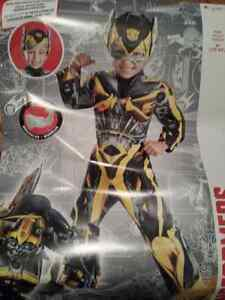 Bumblebee Transformers Costume 3T-4T