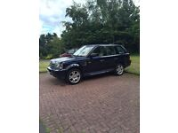 Superb Range Rover Sport for sale Buckingham Blue