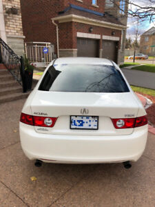 2005 Acura TSX White Automatic For Sale