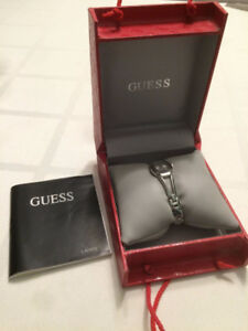 Excellent Condition Ladies Guess Stainless steel Watch with Box