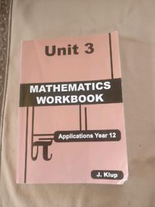 J.Klup Maths Applications ATAR Year 12 Unit 3