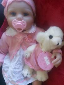 Reborn doll, brand new (mildenhall)