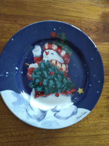 Snowman Dishes