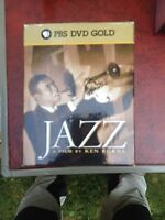 Jazz music DVD's