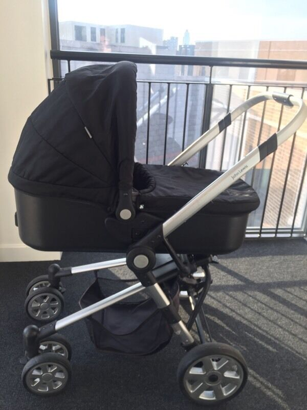 John Lewis pram/ pushchair/ buggy/ stroller- newborn to toddler ...