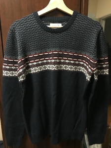 Frank and Oak Abercrombie & Fitch Hollister Sweater Shirt $30