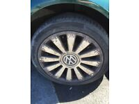 Audi/ volkswagen alloy wheels