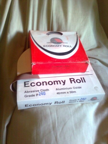 Economy Rolls Abrasive (sanding paper) Variety Gritts/Width's lenghts
