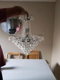 Chandelier light fitting (Retro)