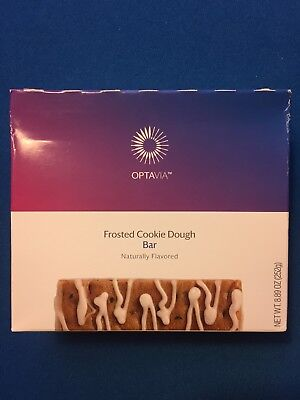 Medifast Optavia Frosted Cookie Dough Bars   7 Bars   Free Shipping