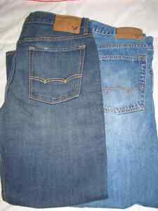 4 pairs of Men's jeans... 3 American Eagle ,1 Buffalo