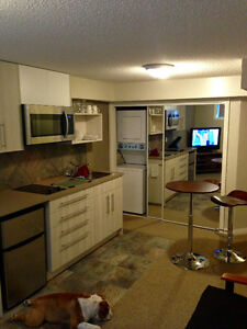 Close to UVic- new, furnished one bedroom suite