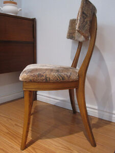 Mid century Teak Dining Chairs Set of 4