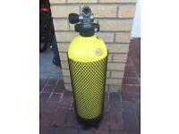 300 Bar 12l steel Faber diving cylinders
