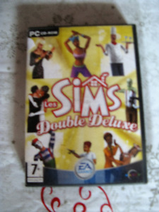 Les SIMS Double Deluxe. PC CD-ROM. 3 CD pour 7+