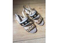 Ladies river island sandals size 4