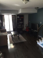 Clean and Bright room in a townhouse near Dundas West Station