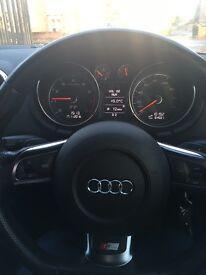 Black Audi TT 2.0 TFSI S Line Special Edition S Tronic