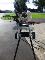 Craftsman Mitre Saw with Laser Guide, Complete With Saw Stand