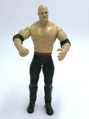 WWE Kane Unmasked Action Figure Solid Black Tights 2003 Jakks Pacific, used for sale  Shipping to India