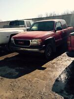 Parting out 1999 GMC Sierra 1500 sl