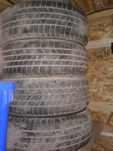 Michelin Defender Tires and Steel Rims 15 inch