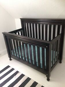 Solid wood Canadian made crib