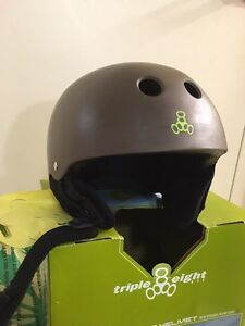 Triple Eight Audio Helmet Size Large- built in speakers