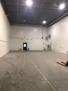 1800 - 3600 sq.ft of Heated warehouse space in great location!