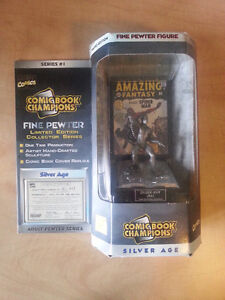 COMIC BOOK CHAMPIONS PEWTER FIGURE: SPIDER-MAN 1962