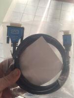 Dvi hdmi cable brand new unopened
