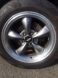 Mustang rims and tires for sale