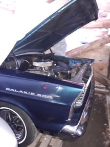 Antique galaxie 500 rare 3rd owner canadian car bought n western