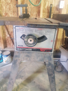 "Craftsman 10"" table saw!"