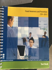 CIP Textbook C39 Fraud Awareness & Prevention